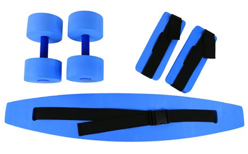 Large Deluxe Exercise Kit Blue