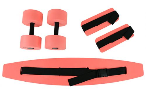 Large Deluxe Exercise Kit Red