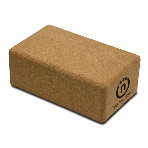 Life Line LFIYBLOC3 Cork Yoga Block - 5.5 x 9 x 3.5 in.