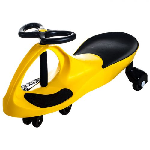 Lil Rider M370022 Ride on Toy Wiggle Car by Lil for Boys & Girls Yellow
