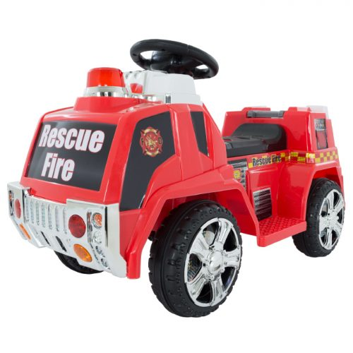 Lil Rider M410006 Ride on Toy Fire Truck for Kids