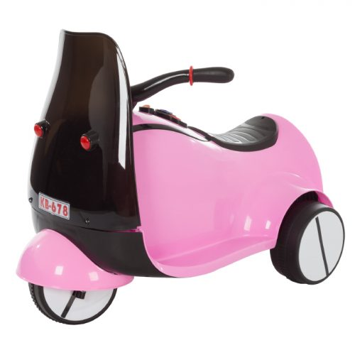 Lil Rider M410010 Ride on Toy 3 Wheel Motorcycle Euro Trike for Kids 2-5 Years Old - Pink