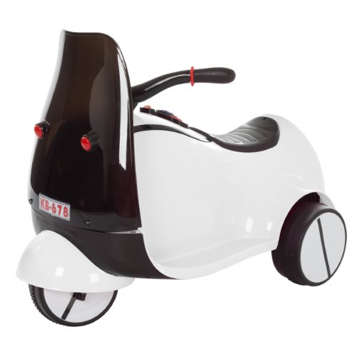 Lil Rider M410012 Ride on Toy 3 Wheel Motorcycle Euro Trike for Kids 2-5 Years Old - White