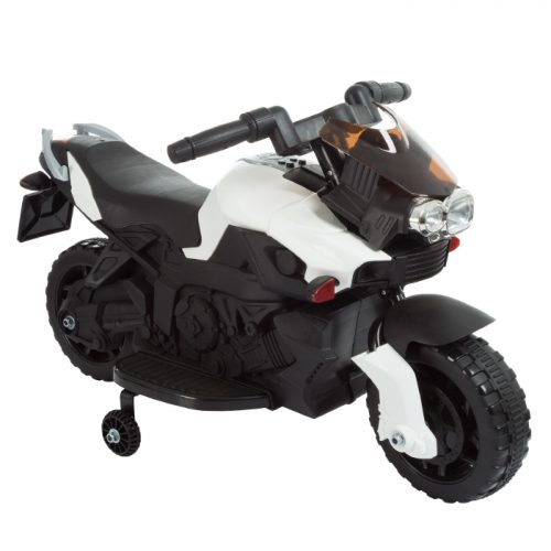 Lil Rider M410015 Ride on Toy 2 Wheel Motorcycle with Training Wheels 2-5 Years Old - White