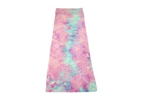 Maji Tie Dye Sandwash Yoga Towel - blossom, one size