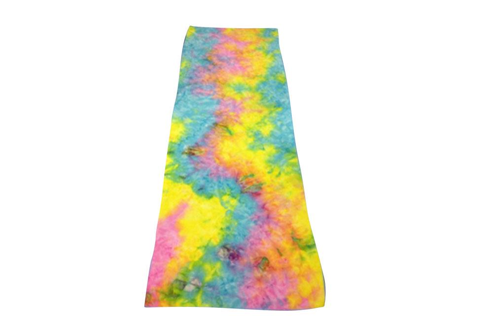 Maji Tie Dye Sandwash Yoga Towel - summer, one size