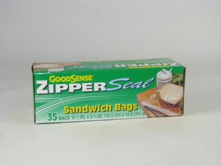 Merchandise 3860256 Good Sense Sandwich Bag Ziplock 35 Count
