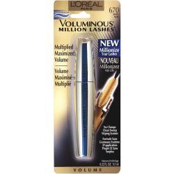 Merchandise 47851289 Loreal Voluminous Million Lashes Waterproof Mascara Black