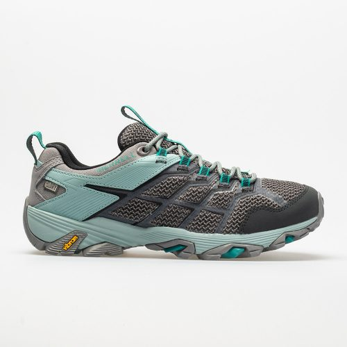 Merrell Moab FST 2 Waterproof: Merrell Women's Hiking Shoes Frost/Aquifer