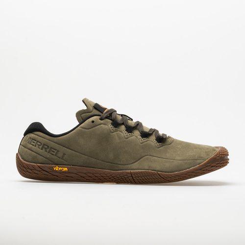 Merrell Vapor Glove 3 Luna Leather: Merrell Men's Walking Shoes Dusty Olive