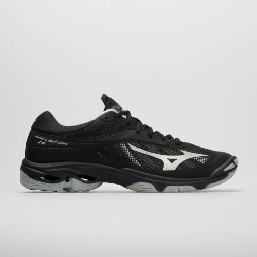 Mizuno Wave Lightning Z4: Mizuno Men's Indoor, Squash, Racquetball Shoes Black/Silver
