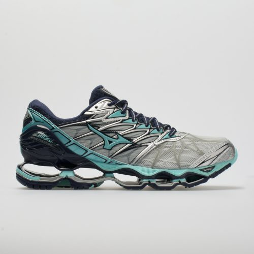 Mizuno Wave Prophecy 7: Mizuno Women's Running Shoes Silver/Aqua Splash