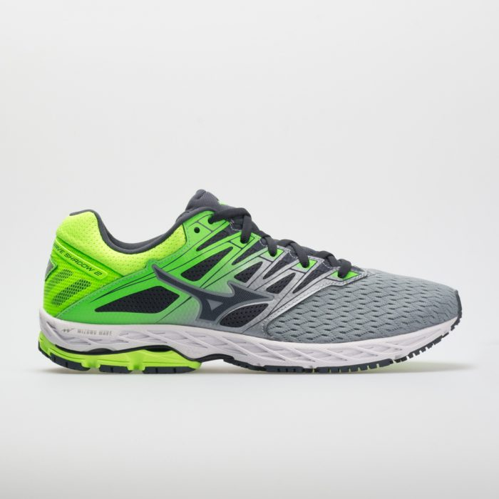 Mizuno Wave Shadow 2: Mizuno Men's Running Shoes Tradewinds/Green Gecko
