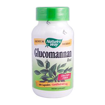 Natures Way 0479907 Glucomannan Root - 100 Capsules