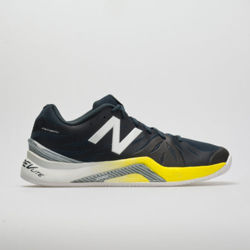 New Balance 1296v2: New Balance Men's Tennis Shoes Petrol/Limeade