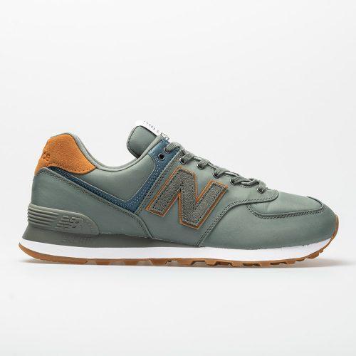 New Balance 574 Backpack: New Balance Men's Running Shoes Sedona Sage/Brown Sugar
