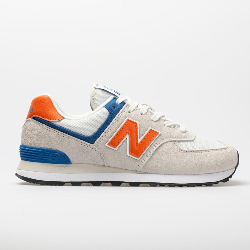 New Balance 574 Core+: New Balance Men's Running Shoes Nimbus Cloud/Bengal Tiger