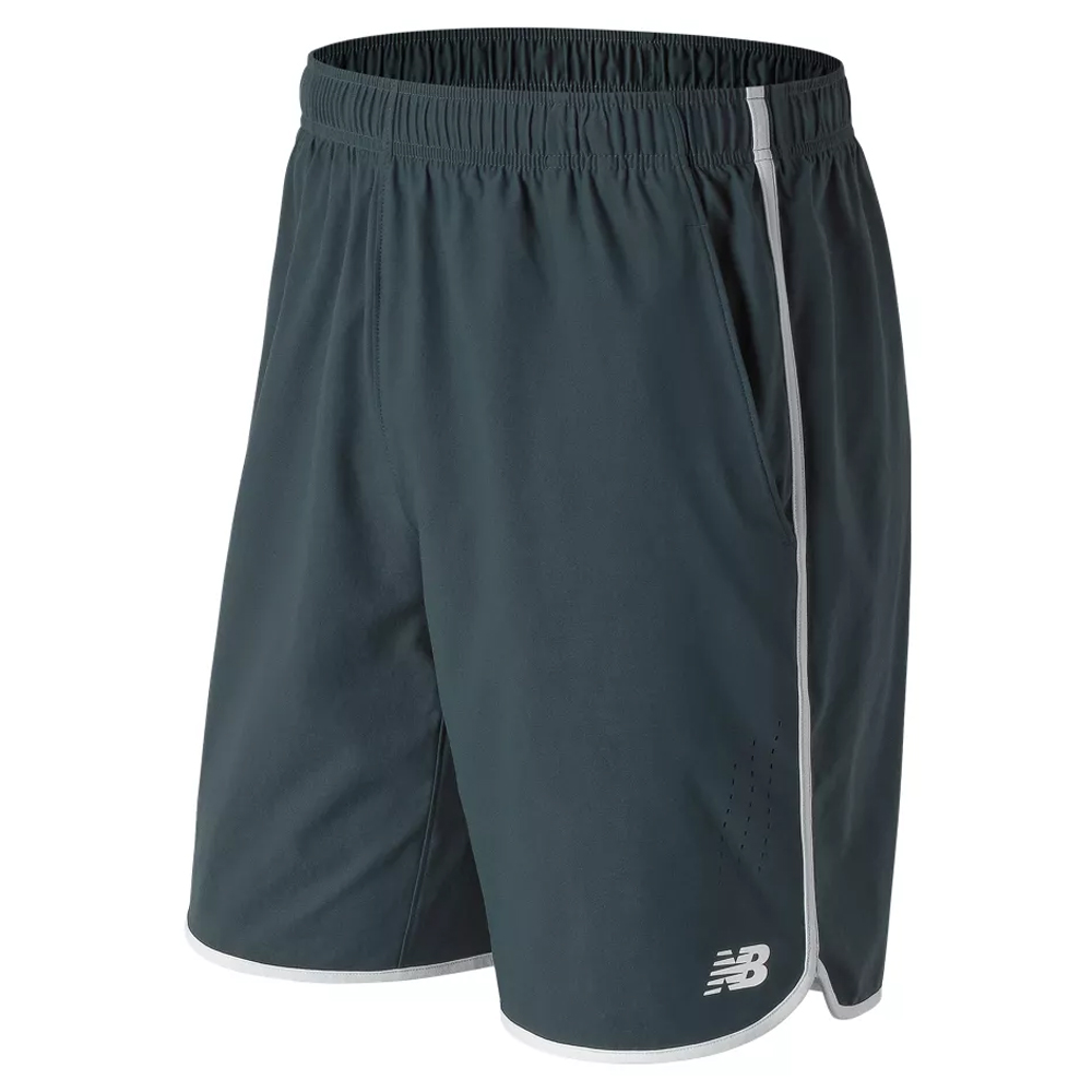 "New Balance 9"" Tournament Shorts Fall 2018: New Balance Men's Tennis Apparel"