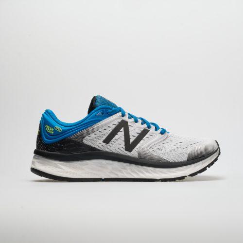 New Balance Fresh Foam 1080v8: New Balance Men's Running Shoes White/Laser Blue