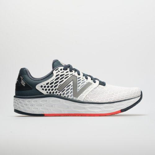 New Balance Fresh Foam Vongo v3: New Balance Men's Running Shoes White/Petrol/Flame
