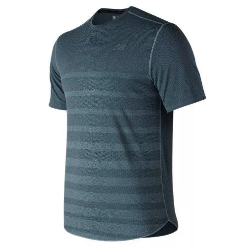 New Balance Q Speed Jacquard Short Sleeve Top: New Balance Men's Running Apparel