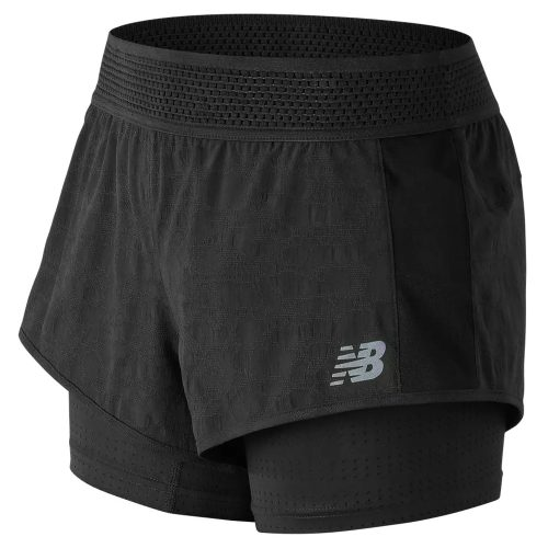 New Balance Q Speed Mesh Shorts: New Balance Women's Running Apparel