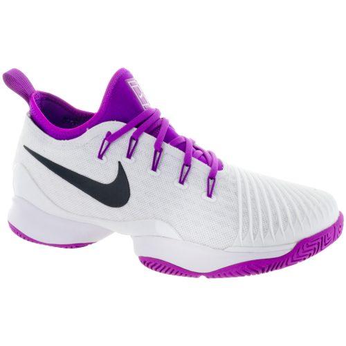 Nike Air Zoom Ultra React: Nike Women's Tennis Shoes White/Black/Vivid Purple