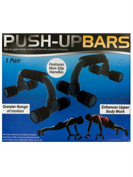 OC579 Bulk Buys Push-Up Exercise Bars