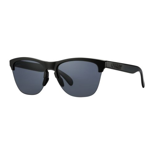 Oakley Frogskins Lite Matte Black PRIZM Sapphire: Oakley Sunglasses