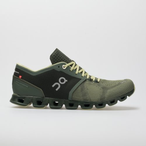 On Cloud X: On Running Men's Running Shoes Forest/Jungle