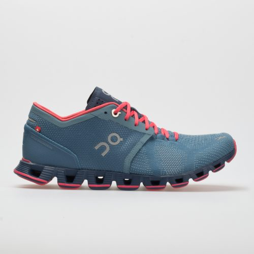 On Cloud X: On Running Women's Running Shoes Lake/Coral