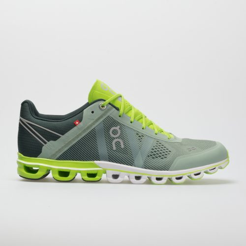 On Cloudflow: On Running Men's Running Shoes Moss/Lime
