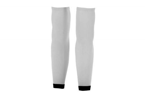 Orca Compression Arm Sleeves - white, small