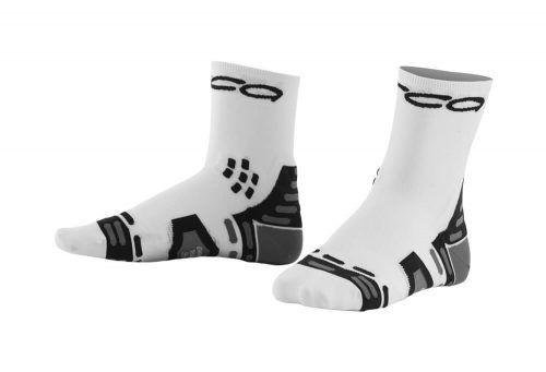 Orca Compression Ultra Light Racing Socks - white, small