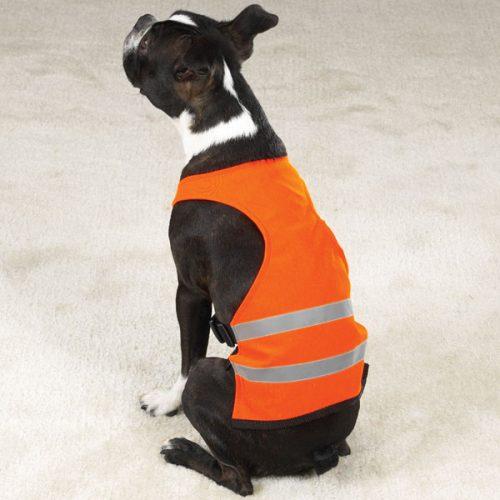 Pet Pals ZA264 16 69 Guardian Gear Safety Vest Med Orange