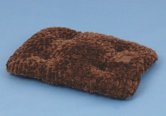Petmate Brown 35X21.5 Plush Mat F3F3 - Brown