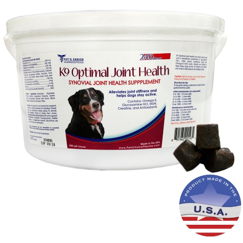 Pets Choice Pharmaceuticals 015PC-240 K9 Optimal Joint Health