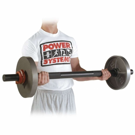 Power Systems 50060 47 Fat Bar - Short with Collars and Plates Sold Separately