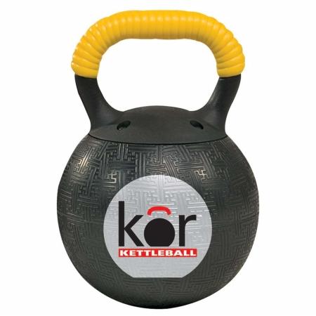 Power Systems 50194 11/4 Kor Kettleball - Yellow - Orange - Blue