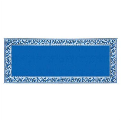 RC3 Classical Mat 8x20 Blue Beige