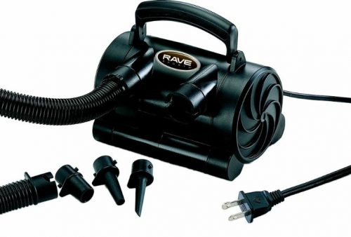 Rave Sports 02342 Canister Pump - Black