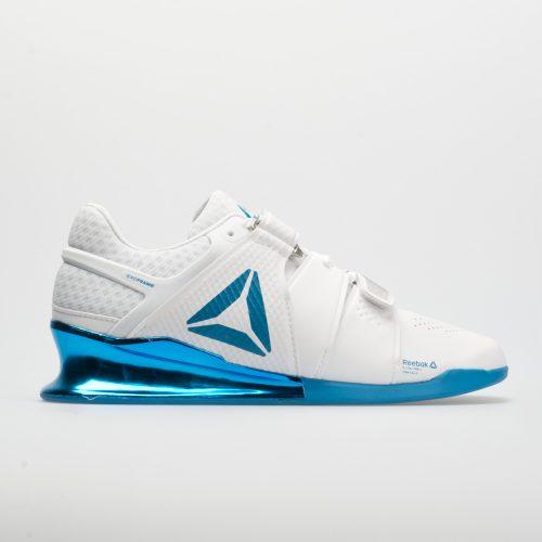 Reebok Legacy Lifter: Reebok Men's Training Shoes White/Mendota Blue