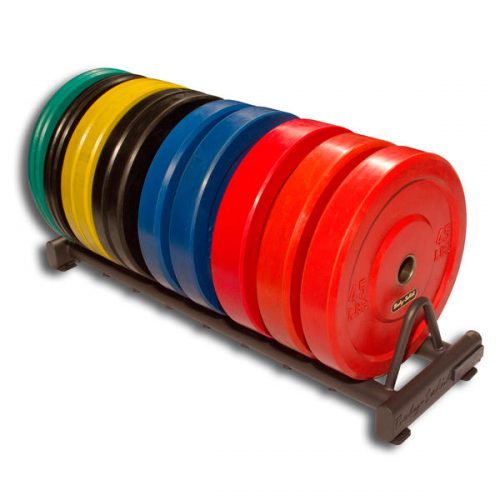 Rubber Bumper Weight Plate Rack