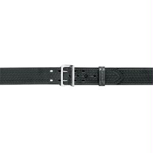 Safariland 875-34-8 875 Stitched Edge with Buckle Belt B-W Black Chrome 34 in.