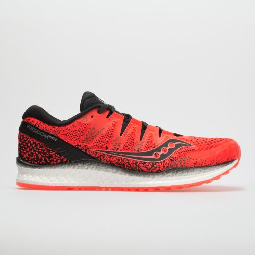 Saucony Freedom ISO 2: Saucony Men's Running Shoes ViZiRed/Black