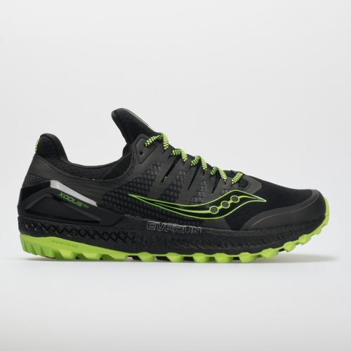 Saucony Xodus ISO 3: Saucony Men's Running Shoes Black/Slime