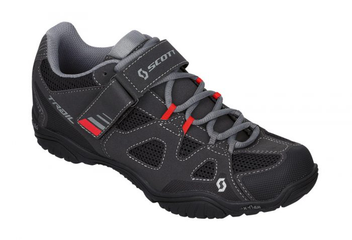 Scott Trail EVO Shoes - black/red, eu 43