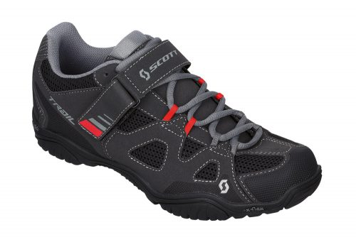 Scott Trail EVO Shoes - black/red, eu 46
