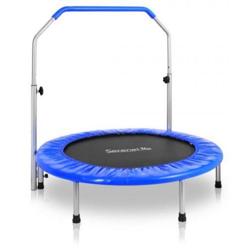 SereneLife SLSPT409 Sports Trampoline - Adult Size