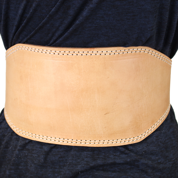 Shelter 250-S 6 in. Last Punch Fitness Split Leather Weight Lifting Belt Padded Good Quality all Sizes - Small